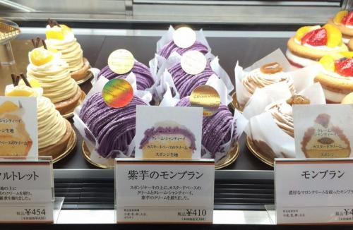 こんなにあった!阪神梅田でモンブランを集めてみた!