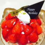 【季節限定!】アンリシャルパンティエのほめられ誕生日ケーキ