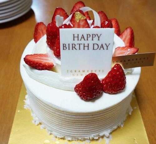 おしゃれな誕生日ケーキならグラマシーニューヨークに決まり!