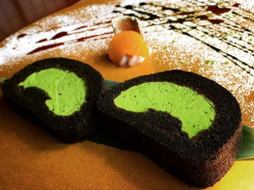 【もはやアート!】京都嵐山で有名な抹茶ロールケーキを食べよう