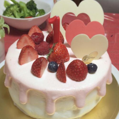 【堂島ロールのお店】モンシェールの素敵な誕生日ケーキまとめ