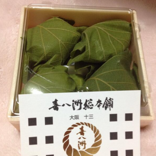 喜八洲総本舗梅田大丸店の柏餅