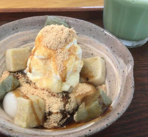 【もちもち食感が超贅沢!】生麩パフェが食べれる京都のお店
