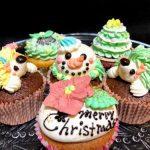 【通販でも買える!】キュートなクリスマスカップケーキまとめ