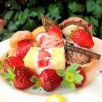 ショコラと供に楽しむ帝国ホテル大阪のいちごビュッフェ2018