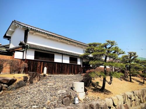 かつて美術館として利用されていたみやけの日本家屋。