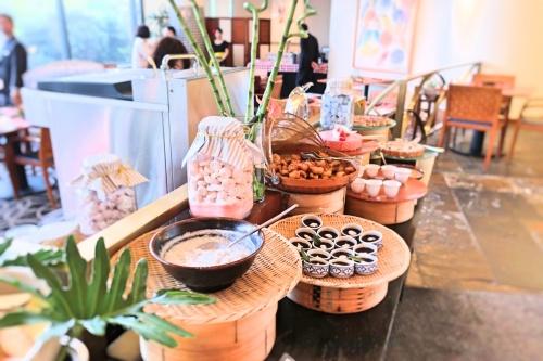 ハイアットリージェンシー大阪のバリ料理ビュッフェのスイーツメニュー