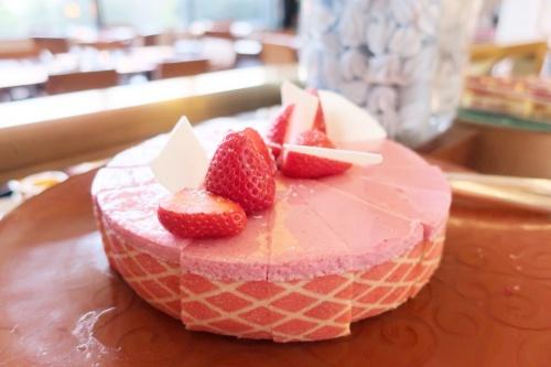 ハイアットリージェンシー大阪のバリ料理ビュッフェに出るベリームース
