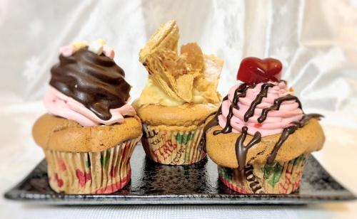 カップス コーヒー&カップケーキさんのバタークリームカップケーキ