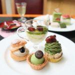 帝国ホテル大阪のスイーツビュッフェ〜抹茶とほうじ茶の薫香〜