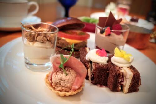 全ての料理にチョコが使用されたリッツカールトン大阪のチョコレートビュッフェ。