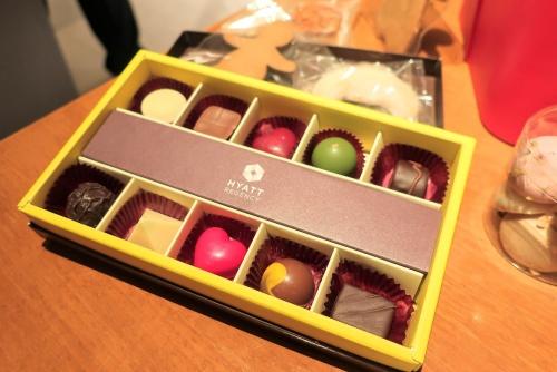 ハイアットリージェンシー大阪のクリスマスチョコレート2018