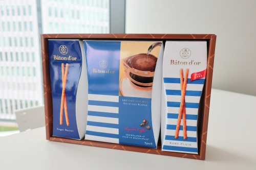 神戸土産にふさわしい、バトンドールそごう神戸限定のコーヒーギフトセット