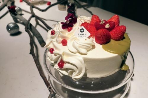 ハイアットリージェンシー大阪2018のクリスマスストロベリーショートケーキ