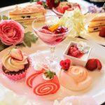 お花の香りを味わう♪ヒルトンホテル大阪のいちごスイーツビュッフェ2019