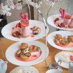 【ホテル日航大阪】桜舞う苺のアフタヌーンティー2019