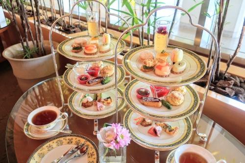 ウェスティンホテル京都のお茶のアフタヌーンティーセット
