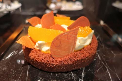 国産マンゴーとシチリアシナモンとオレンジを使ったブルガリケーキ