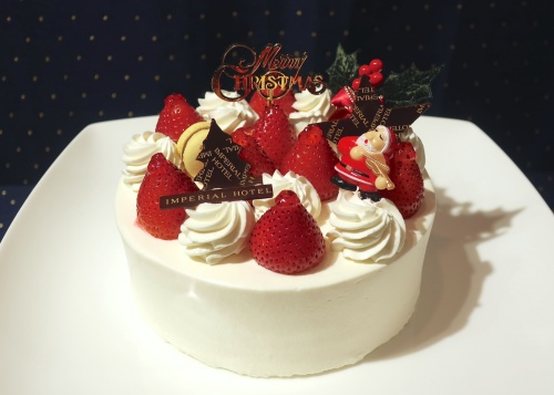 帝国ホテル大阪のいちごのショートケーキ。